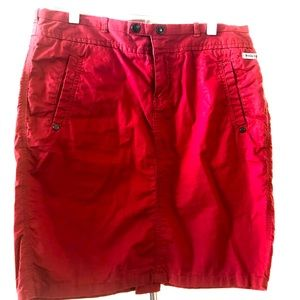 🔵 3 for $20 • Converse One Star Red Skirt •Size 6